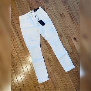 New! Refuge Skinny Boyfriend Distressed Jeans